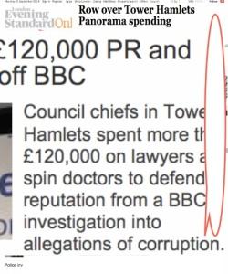 CORRUPTION allegations