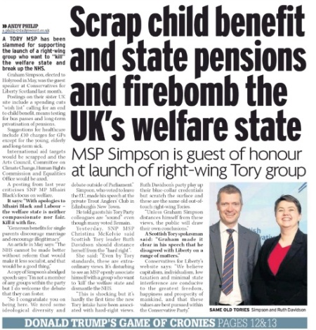 0741 GMT CITING 14 Dec 2016 Daily RecordANDY PHILIP a.philip@dailyrecord.co.uk Scrap child benefit and state pensions and firebomb the UK's welfare state.jpg