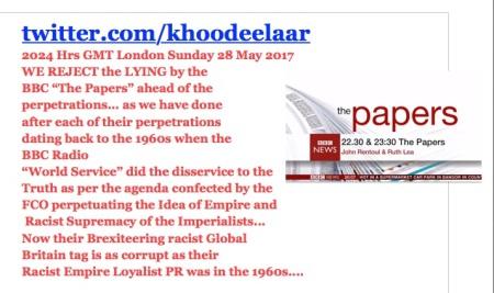 LYING EMPIRE PEDDLING BBC