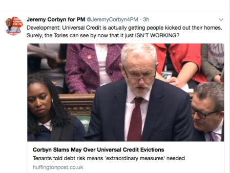 1103 gmt CORBYN GETS IT ABSOLUTELY WRONG AGAIN
